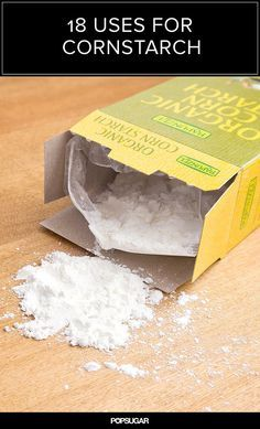 18 Uses For Cornstarch That Will Save You Money Streak-free windows: Cornstarch is a natural abrasive and also superfine, so adding a tablespoon to the bottle of your favorite window cleaner makes cleaning easier and leaves windows streak-free.