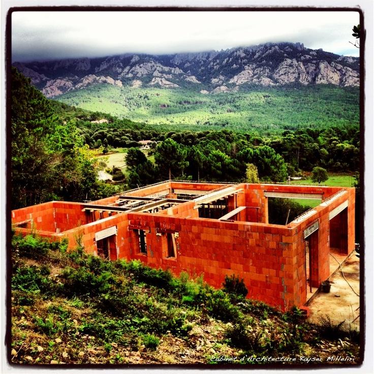 Brique Monomur Porothon R35 en Corse