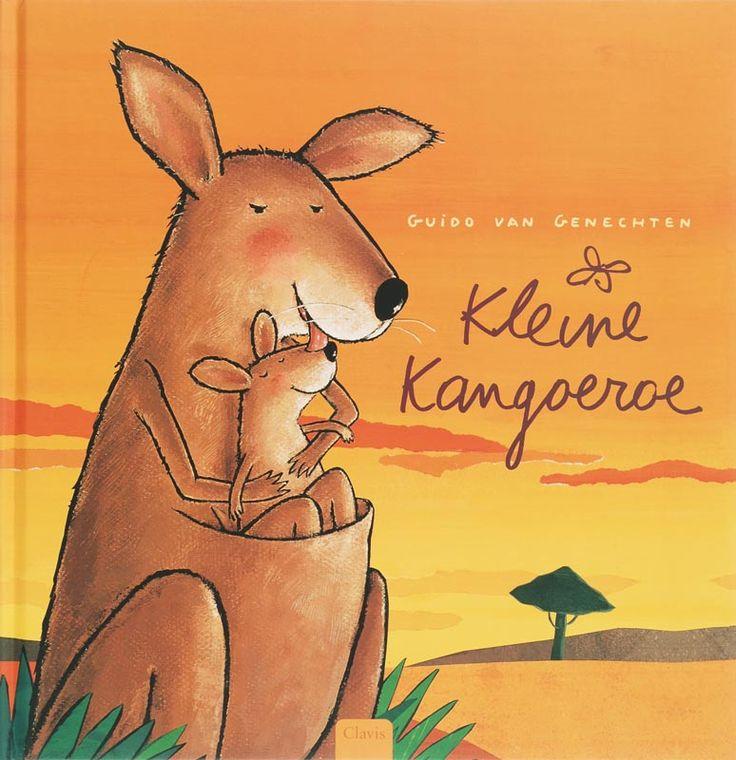 Kleine Kangoeroe is uitgeroepen tot Prentenboek van het Jaar 2007. De wereld is groot, veel en veel groter dan de buidel van Mama Kangoeroe.Maar Kleine Kangoeroe blijft liever dicht bij mama. Dat is veiliger, warmer en makkelijker. Mama probeert Kleine Kangoeroe met een duwtje in de rug te laten zien wat het leven allemaal te bieden heeft. Eerst wil at niet zo best lukken, maar dan ... Een heerlijk prentenboek over liefdevol loslaten voor kinderen vanaf 3 jaar.