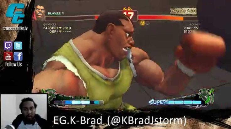 EG.K-Brad Plays Ranked on Ultra Street Fighter 4 PC