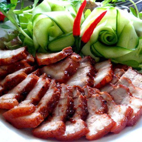 Vietnamese Recipes – Char Siu or Barbecued Pork Vietnamese Style – Thit Xa Xiu (Mon An Viet Nam)