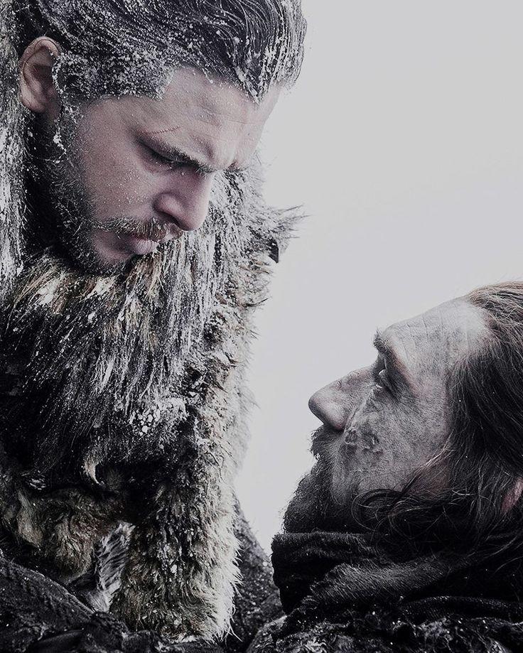 Jon Snow and Benjen Stark Game of Thrones season 7 Kit Harington