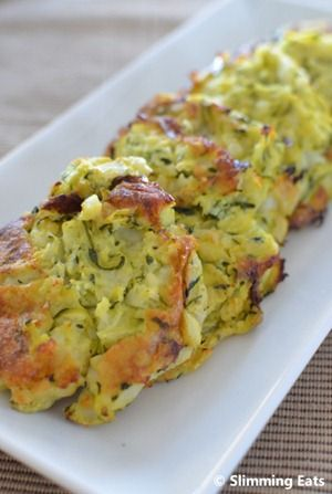 SW courgette and potatoe cakes