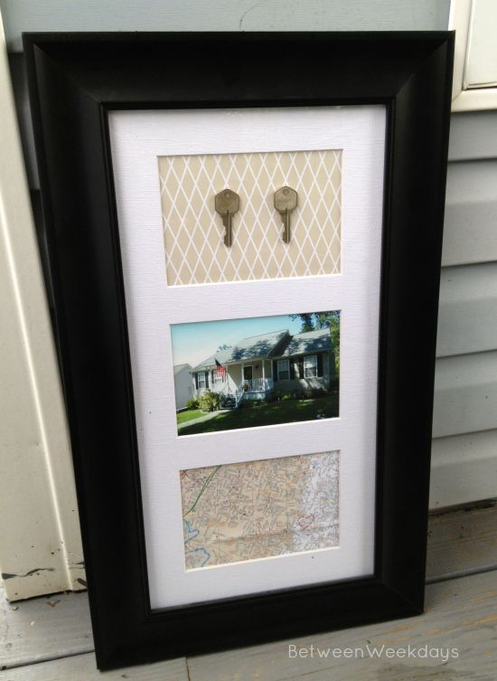 A few months ago, I mentioned that I wanted to make some keepsake art in order to commemorate our first home together. It's no secret that I adored our first house, so some keepsake art seemed in o...