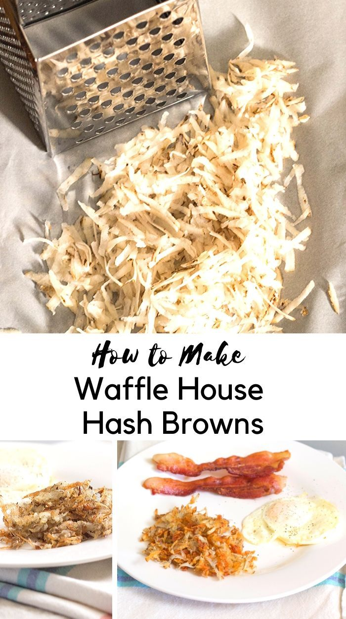 Swooning Over Brunch Waffle House Style Hash Browns Recipe