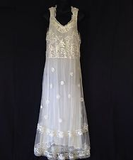 April Cornell Lace AND Tulle Beaded AND Embroidered TEA Gown Wedding Dress | eBay