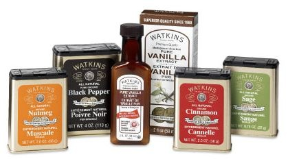 J.R. Watkins Apothecary Products.