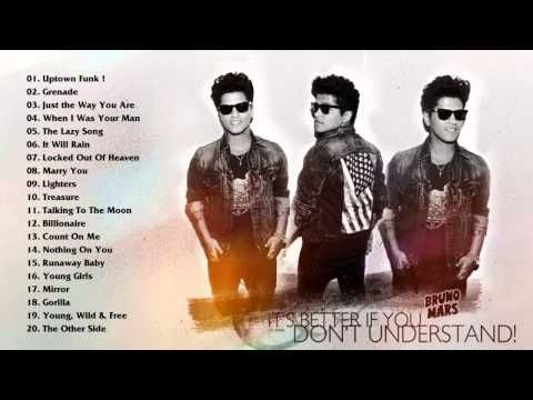 Bruno Mars greatest hits full album 2015 - the best of Bruno Mars playli...