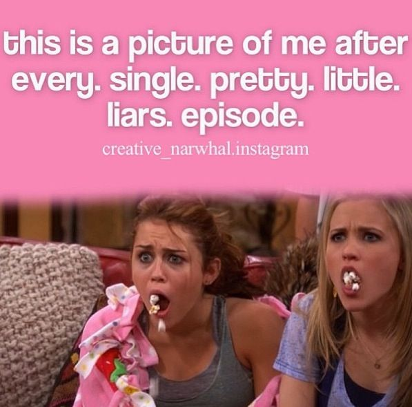 So true!! Especially after we find out about EzrA. Pretty little liars