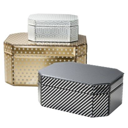 Target Threshold™ Mirrored Jewelry boxes. obsessed want them all!