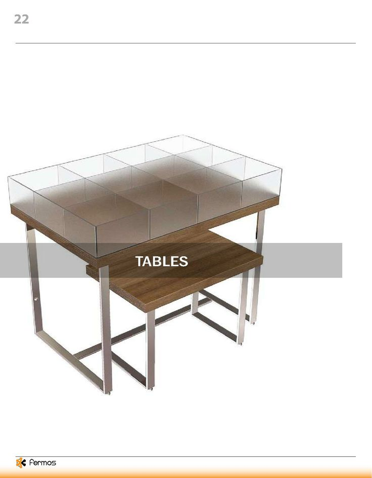 fermos retail display fixtures table