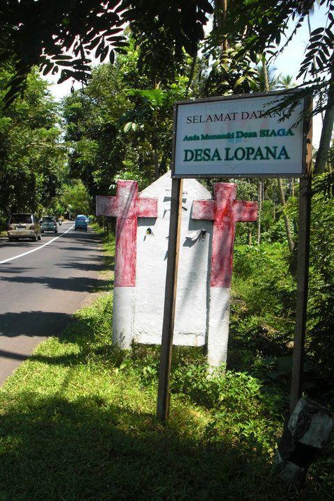 Lopana, geboortedorp van de moeder van Frank en Paul