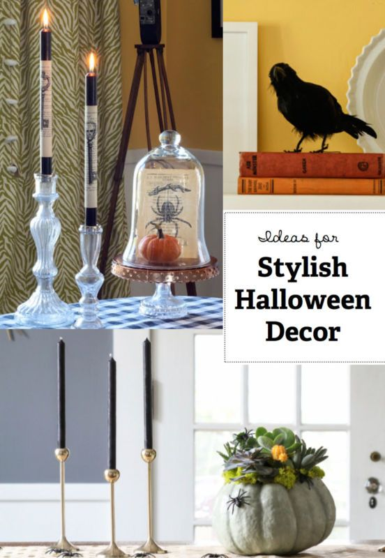Sure, goblins, ghouls, and zombies lend a spooky air to a Halloween theme, but those are old hat. Take a more interesting and stylish route, instead. Create a mad scientist's lair, with chemistry supplies and apothecary jars. Add a (stuffed?) raven or two to set the mood. Before you begin decorating this Halloween, make sure to read the following eBay guide for a stylish, yet spooky, Halloween décor.