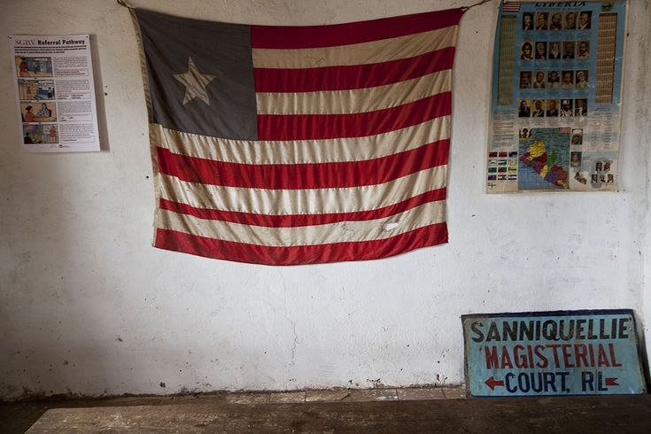 Liberia, named for liberty in 1824, has had a rough go of it since being colonized by African-Americans settled there by the American Colonization Society.