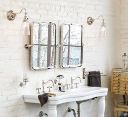 Victorian style bath, from Rejuvenation