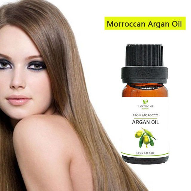 2 bottles Lanthome 100% Pure Moroccan Argan Oil Macadamia Nut Oil #Firstsun