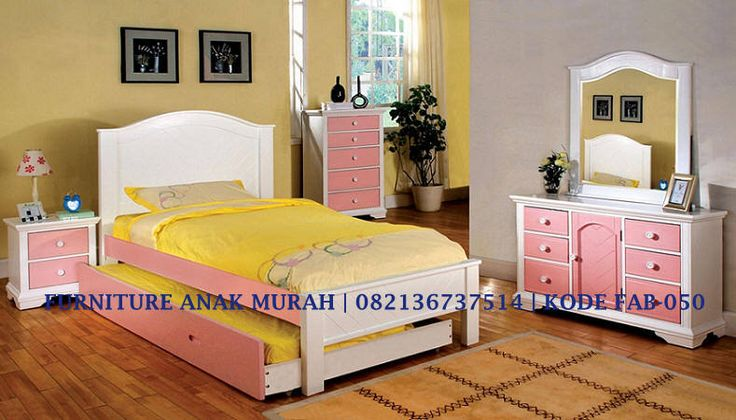 Jasa Pembuatan Kamar Set Anak Warna Pink With Meja Rias Pink, Konsep Kamar Set Anak Pink Terbaru, Kamar Set Anak Murah Pink