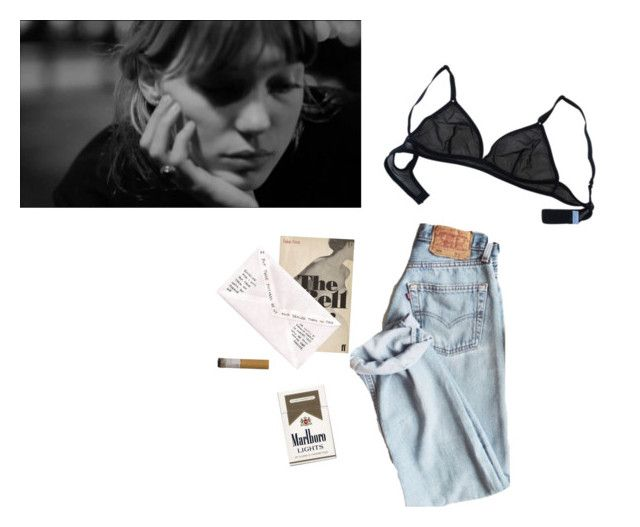 """""""je suis seul et tu me manques"""" by indiesarah ❤ liked on Polyvore featuring art"""