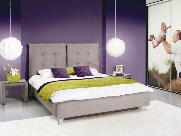 Łóżko tapicerowane Feng LOZ.P160 160x200 (z pojemnikiem)