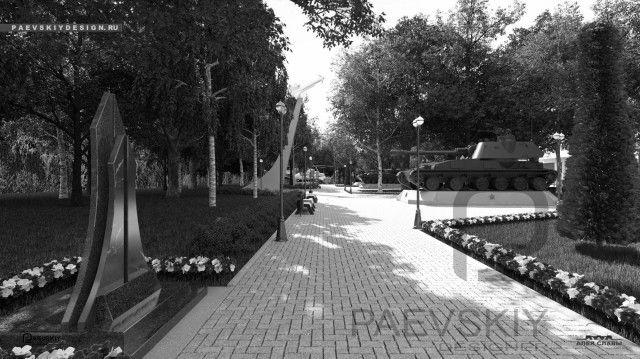 Мемориальный парк АЛЛЕЯ СЛАВЫ в Московской обл
