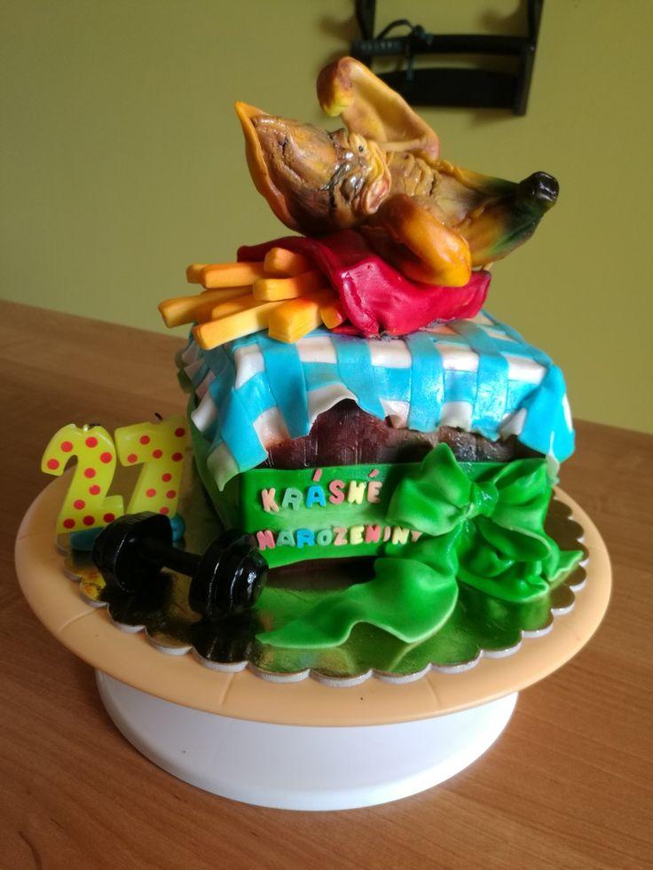 BananavsMcDonald cake