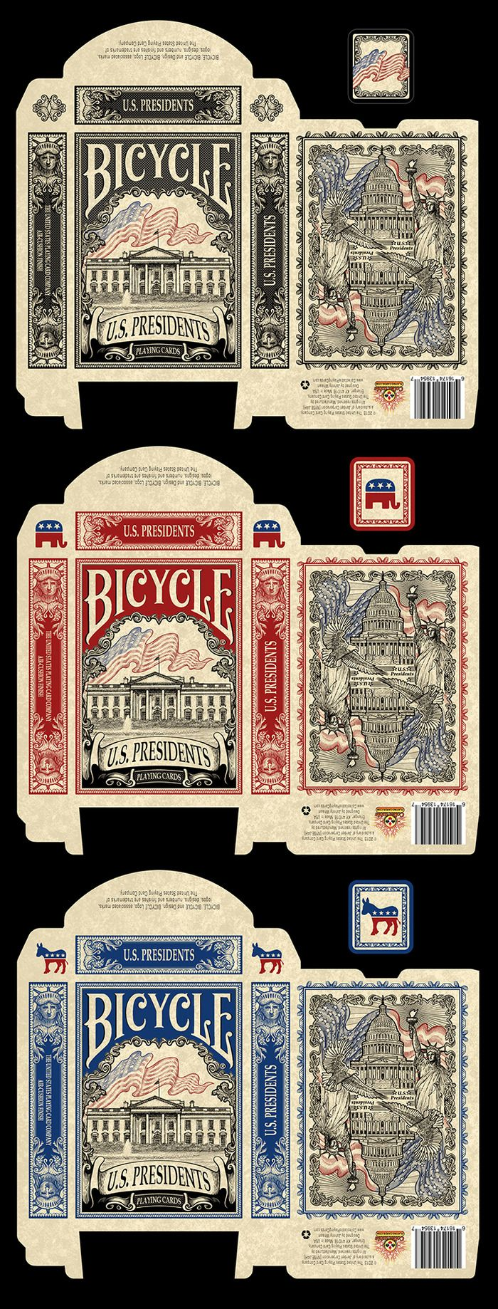 Bicycle US Presidents Playing Cards by Collectable Playing Cards — Kickstarter
