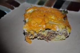 Beth's Favorite Recipes: Low Carb Breakfast Casserole