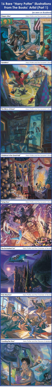 Harry Potter illustrations | Harry Potter: