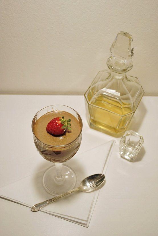 La Petite Anne: Recept: francouzská čokoládová pěna s rumem