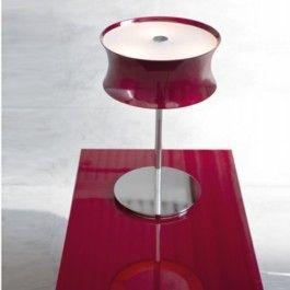 Fanny Tavolo este o lampa de masa de forma circulara cu structura metalica cromata,si dispersorul din sticla de culoare alb lucios sau rosu metalizat. Brand Lucente Pentru mai multe detalii vizitati: http://www.corpurideiluminat-tlb.ro/fanny-tavolo-lampa-masa-lucente-contract-3.html