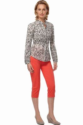 Женские шорты-бриджи   Кому подходят и с чем носить женские шорты-бриджи