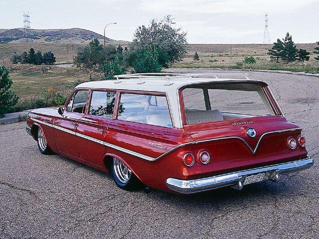 1961 CHEVROLET NOMAD CUSTOM STATION WAGON - 71927