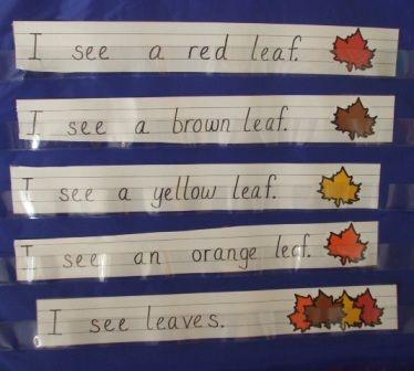 October ideas kindergarten balanced literacy