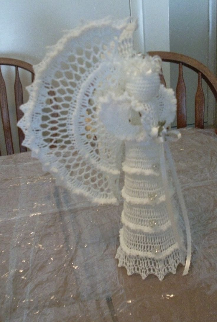 Angel in Ruffles ..also for Brain Cancer...this one went to Ecuador