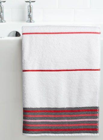 Best Home Life Images On Pinterest Bath Towels Bathroom - Bhs monochrome word bath sheet bhs monochrome word hand towel