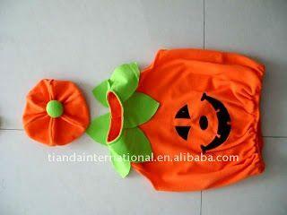 Bebés con disfraz de calabaza halloween | idisfraz