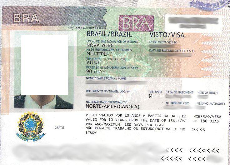 Brazil Visa Types: How to Obtain Transit, Tourist, Temporary or Permanent Visa for Brazil