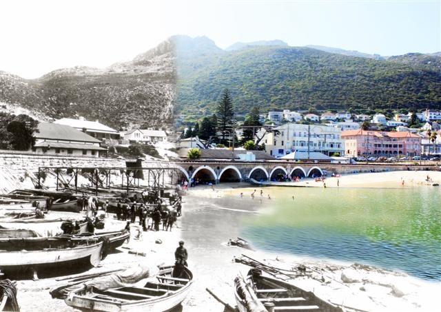 Kalkbay- then & now