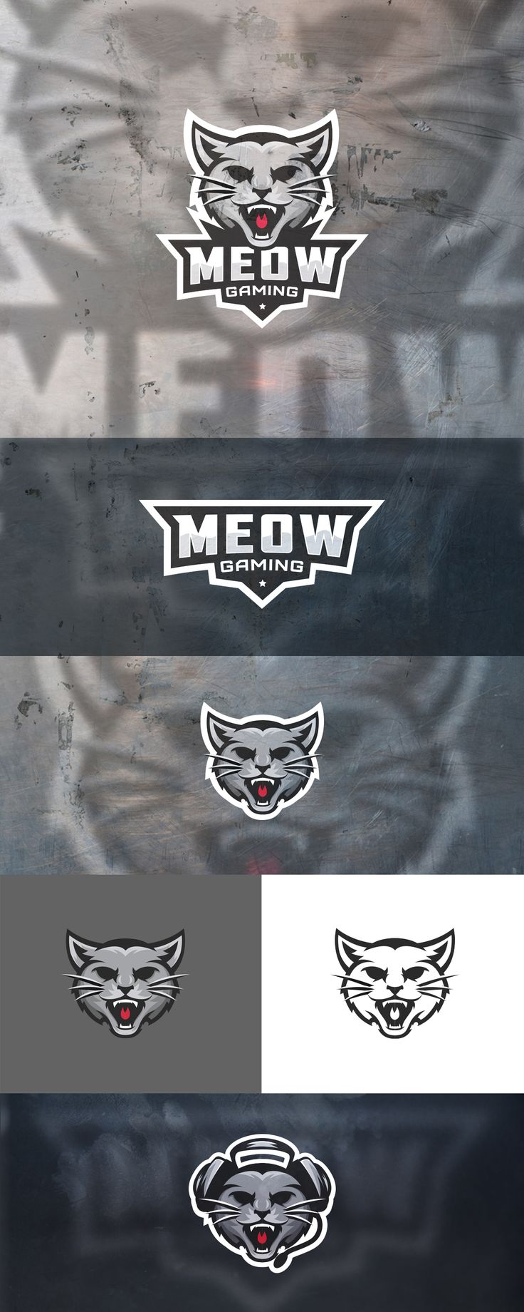 Meow Gaming on Behance