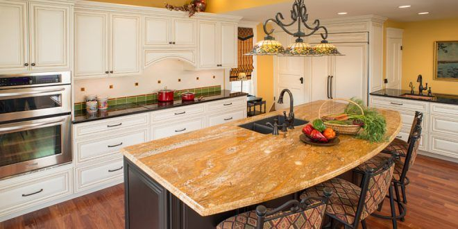 Sophisticated and Warm Kitchen Finishes by Copper Leaf Interior