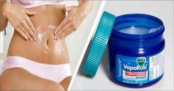 Conozcamos este efectivo truco con Vicks Vaporub, para reducir medidas en el abdomen y cintura, pues nos ayuda a estimular la quema de grasa en esa área de nuestro cuerpo