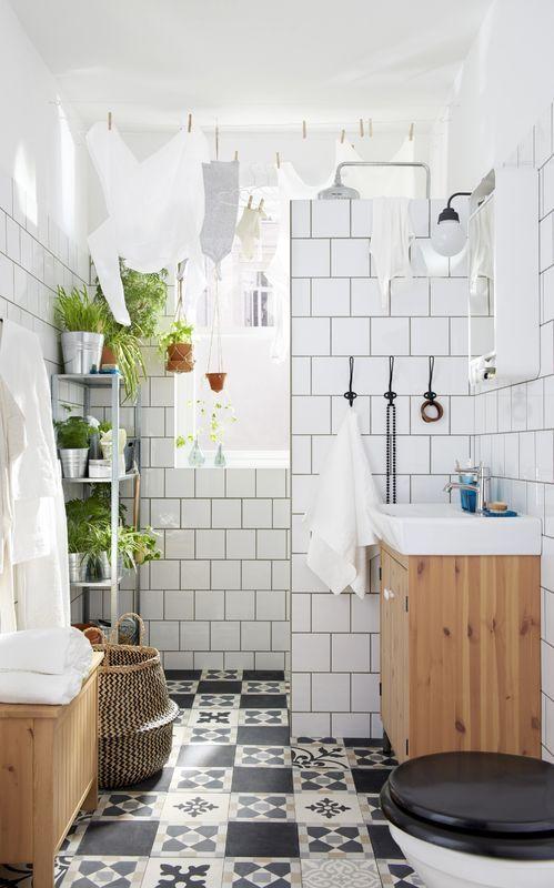 Mała łazienka, fot. IKEA