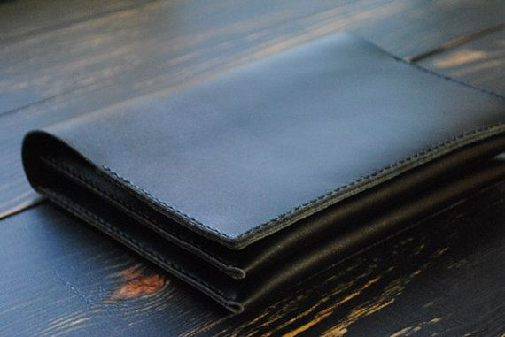 Pochette en cuir pochette personnalisé sur mesure par 9FloorStudio