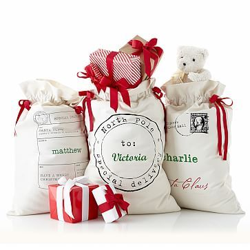 Santa Sack at an online specialty store...but I wonder if I could use this idea somehow...