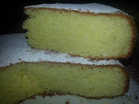 Pan di Spagna al limone