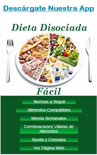 """MENÚS SEMANALES PARA LA DIETA DISOCIADA:   Estos menús semanales  son orientativos y creados por mi para facilitaros la tarea de """"que me hag..."""