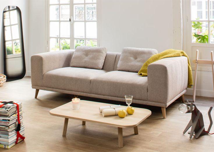 Ce canapé Welly couleur Camel par ENO Studio apportera une touche de design et de douceur à votre intérieur. On aime ses lignes épurées et ses courbes minimalistes!