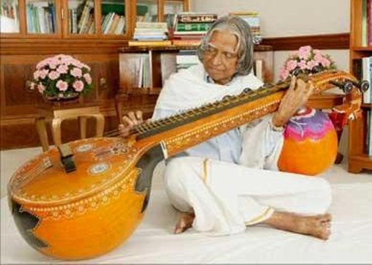 Dr Kalam in a musical mood! :-)