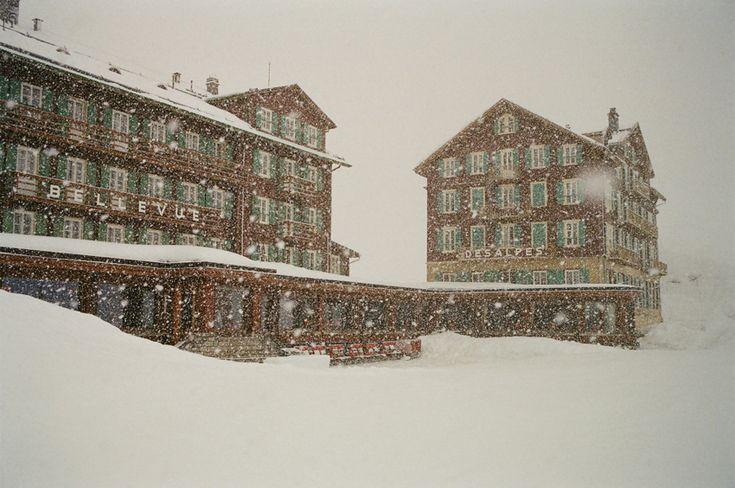 Hôtel Bellevue des Alpes, Suisse.