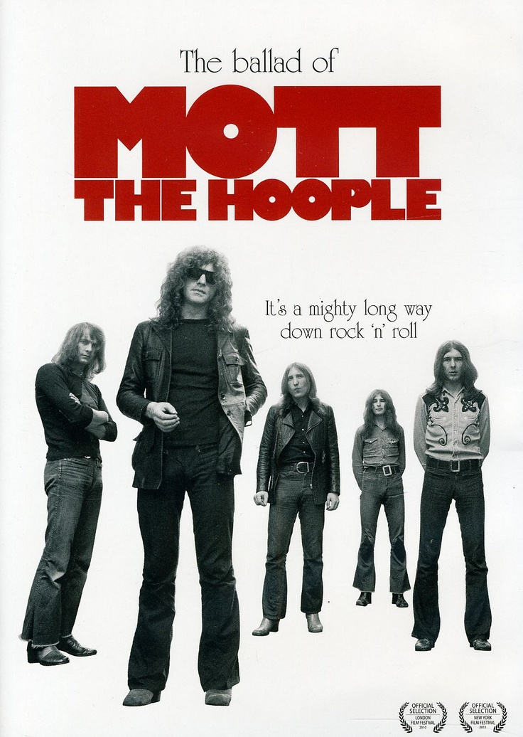 "'Mott the Hoople' were a British rock band, popular in the glam rock era of the early to mid-1970s. They are popularly known for the song ""All the Young Dudes"", written for them by David Bowie and appearing on their 1972 album of the same name."